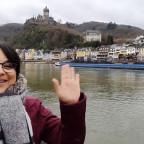 Hoy 12 de Enero del 2020 les saluda su profesora de Bordado desde Alemania.