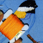 Como bordar un pájaro clase 2 How to embroidery a bird second class